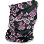 Purple Paisley Motley Tube - T228