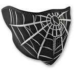 Spider Web Half Face Mask - WNFM055H