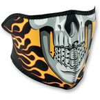 Burning Skull Half Face Mask - WNFM061H