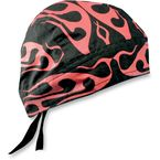 Red Tribal Flames Flydanna® Head Wrap - Z627