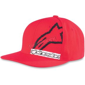 Alpinestars Red Scribblebox Hat - 10398103130O/S