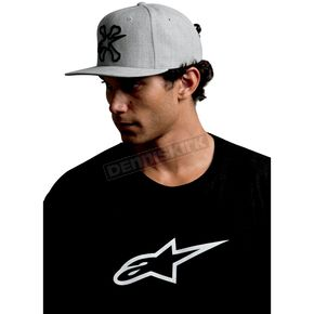 Alpinestars Cross Bones Gray Hat - 10108101371