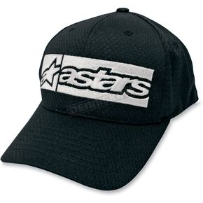 Alpinestars Black Poly Mesh Hat - 10108102110L/XL