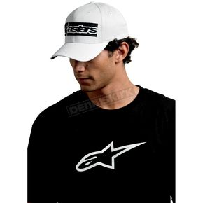 Alpinestars White Poly Mesh Hat - 10108102120S/M