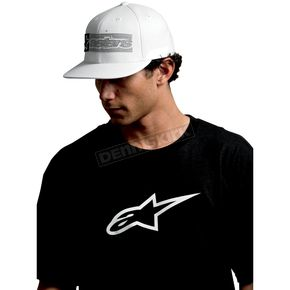 Alpinestars White Rectangle Box Hat - 10108102420L/XL
