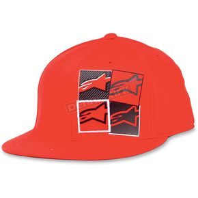 Alpinestars Red Fours 210 Hat - 10308101830LXL