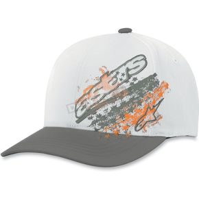 Alpinestars Gray Freedom Hat - 10308100611LXL