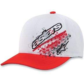 Alpinestars Red Freedom Hat - 10308100635LXL