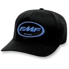 FMF Black/Blue Factory Don Hat - F31196103BLLXL