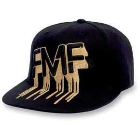 FMF Black/Yellow Drip Hat - F31196101BYLX