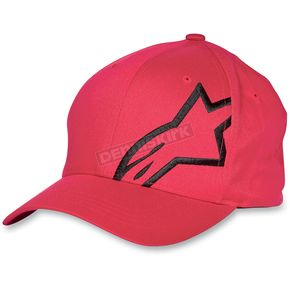 Alpinestars Red Corp Shift Hat - 103981004030LXL