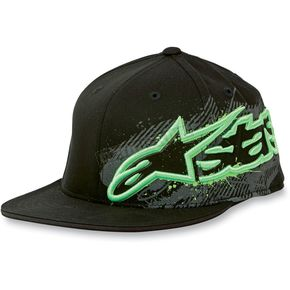 Alpinestars Black Barrel 210 Hat - 10128101410ASM