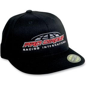 Pro Circuit Black/Red International Hat - PC11400-0235