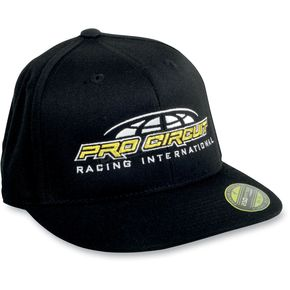 Pro Circuit Black/Yellow International Hat - PC11401-0235