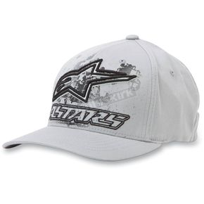 Alpinestars Gray Dare Hat - 10328100111LXL