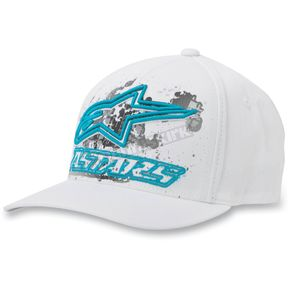 Alpinestars White Dare Hat - 10328100120SM