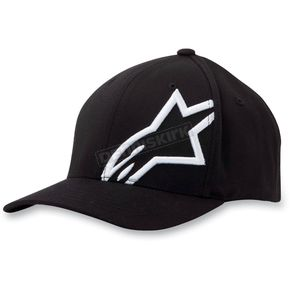 Alpinestars Black/White Corp Shift 2 Hat - 103281008120SM