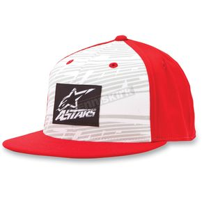 Alpinestars Red Armstrong Hat - 10328101130LXL