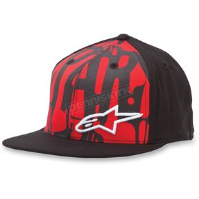 Alpinestars Red Mccarthy Hat - 10328101530LXL