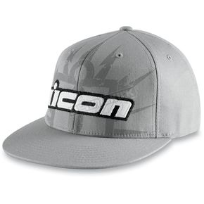 Icon Gray Lightning Hat - 2501-1484