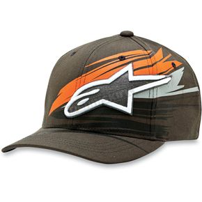Alpinestars Charcoal Arrow Hat - 1013-8101318LXL