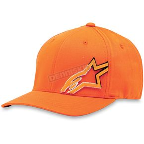 Alpinestars Orange Cloaked Hat - 1013-8100440LXL