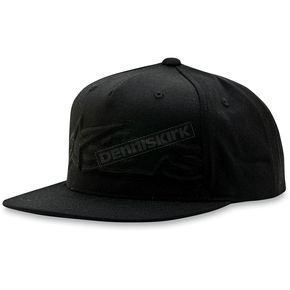 Alpinestars Black Extent Hat - 1013-8505210