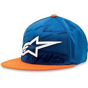 Alpinestars Blue Seasoned Hat - 1013-8202979LXL