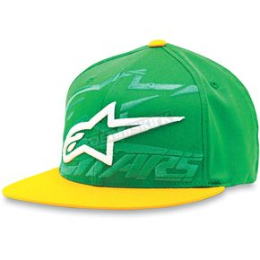 Alpinestars Green Seasoned Hat - 1013-8202960LXL