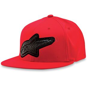 Alpinestars Red Carbon Mold Hat - 1013-8203130LXL