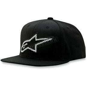 Alpinestars Black Crisscross Hat - 1013-8505110