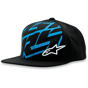 Alpinestars Black Typo Hat - 1013-8505710