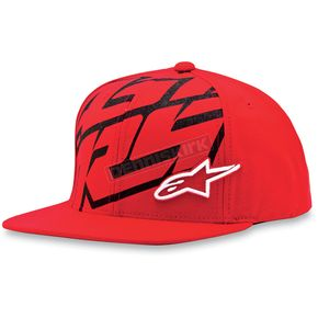 Alpinestars Red Typo Hat - 1013-8505730