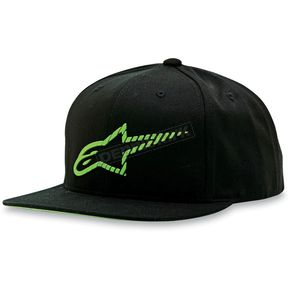 Alpinestars Green/Black Reform Hat - 1013-8505360