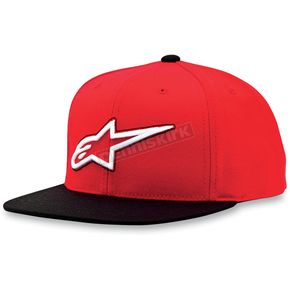 Alpinestars Red Touchdown Hat - 1013-8505530