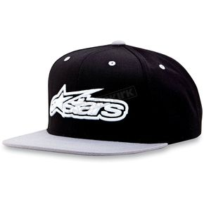 Alpinestars Silver/Black Imprint Hat - 1013-8505619
