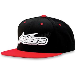 Alpinestars Red/Black Imprint Hat - 1013-8505630