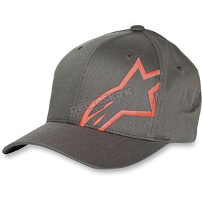 Alpinestars Youth Charcoal Corp Shift Hat - 3039-8100418