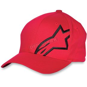 Alpinestars Youth Red Corp Shift Hat - 3039-8100430