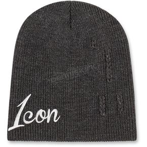 Icon Charcoal Feedback Beanie - 2501-1964