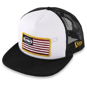 FMF White Stars and Bars 2 Hat - F35196109WHTONZ