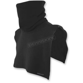 Black Tall Neck Fleece Dickie - TD002