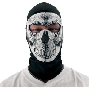 Zan Headgear Skull Coolmax Balaclava with Neoprene Face Mask - WBC002NFME