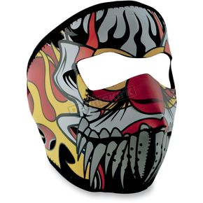 Zan Headgear Lethal Threat Clown Full Face Mask - WNFMLT04