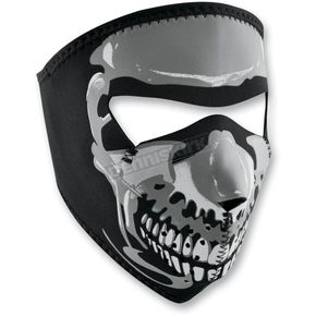 Zan Headgear Full Face Skull Glow in the Dark Face Mask - WNFMS023G