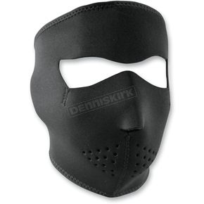 Zan Headgear Black Full Face Mask  - WNFMS114
