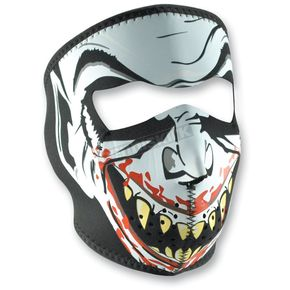 Zan Headgear Vampire Glow in the Dark Full Face Mask - WNFM067G
