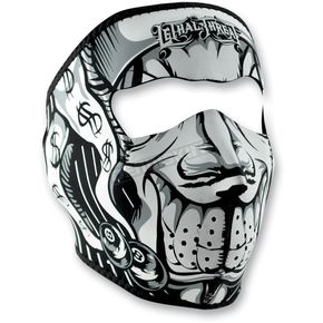 Zan Headgear Lethal Threat Jester Full Face Mask - WNFMLT05