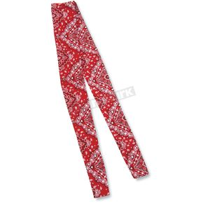 Zan Headgear Red Paisley Cooldana - DC106