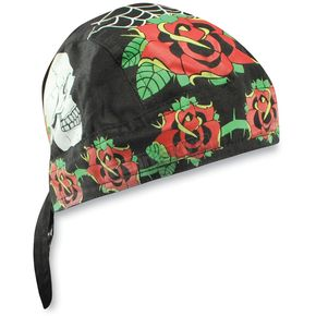 Zan Headgear Rose Skull Road Hog Headwrap - ZSG069